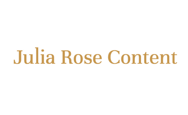 Julia Rose Content Logo