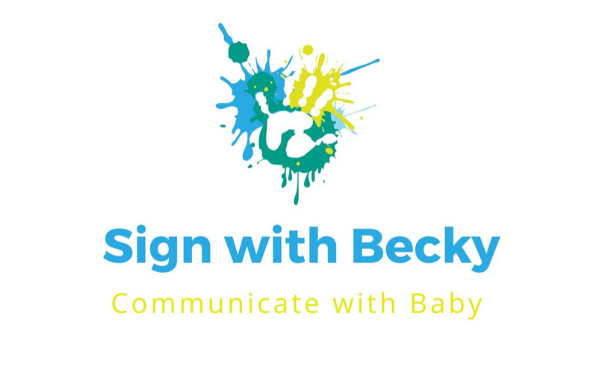 Sign with Becky Logo